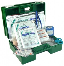 commercial burns first aid kt lewis-plast burn-cool gel sachets