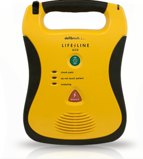 Defibtech Lifeline Semi Automatic AED automated external defibrillator machine