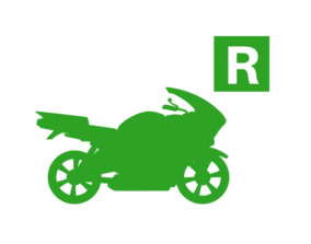 Motorcycle R Restricted Icon