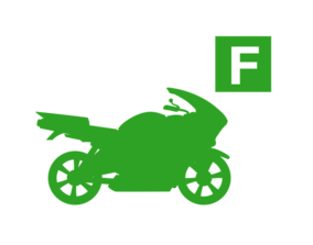 Motorcycle F Full Icon